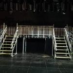 Scaffolding For A Stage